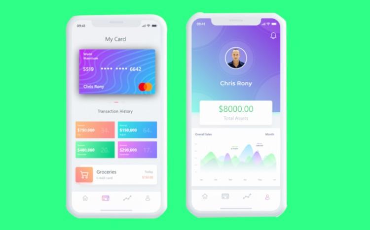 criar uma carteira digital